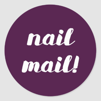 Nail Mail! Fig stickers