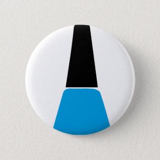 Nail polish 2 inch round button