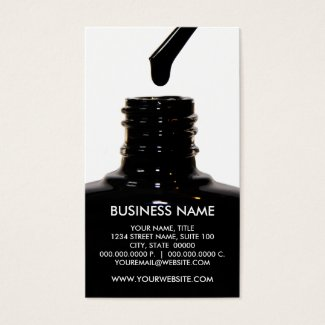 Nail Polish Business Cards are cute and unique. Get the best quality affordable business cards for salons & spas. Create loyalty cards, referral cards, discount cards and more.