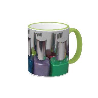 Nail Polish Ringer Coffee Mug