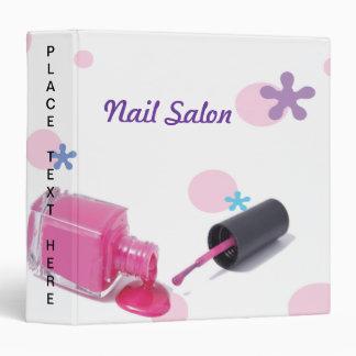Nail Salon Binder