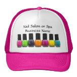 Nail Salon Business, Bright Polish Bottles