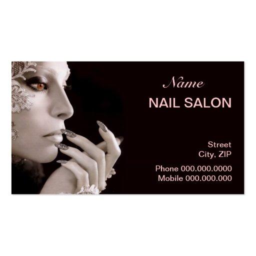 Nail Salon Business Card Business Card