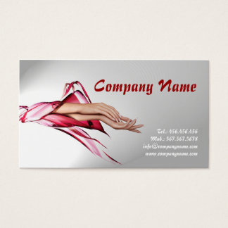 Nail Stylist / Manicure Specialist Business Card
