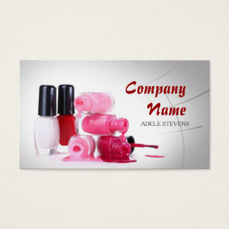 Nail Stylist / Manicure Specialist Polish Hands Business Card