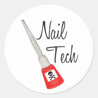 Nail Tech Poison Polish Sticker