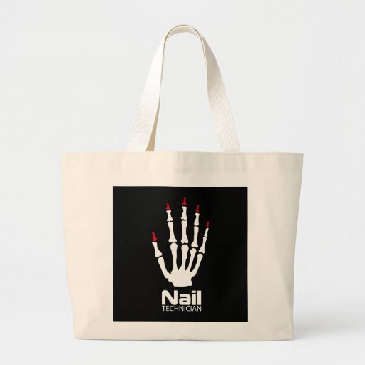 Nail technician canvas bags