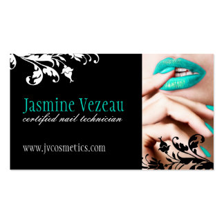 Nail Technician Business Cards
