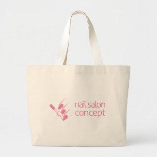 Nail Technician Concept Jumbo Tote Bag