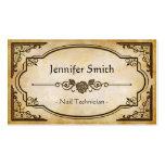 Nail Technician - Elegant Vintage Antique