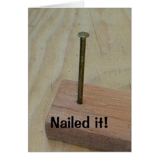Nailed It! Card