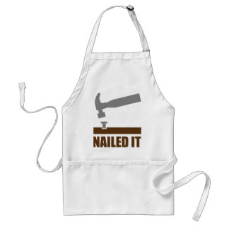 Nailed It Standard Apron