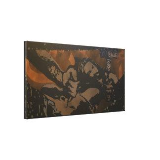 """Nailed"" Premium Canvas Print"