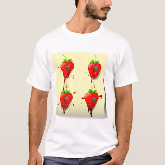 Nailed Strawberries Mens T-Shirt