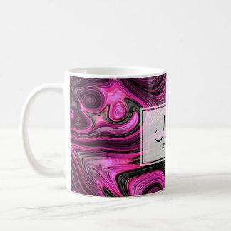 Nails Nail Artist Pedicure NailArt Purple Black Coffee Mug