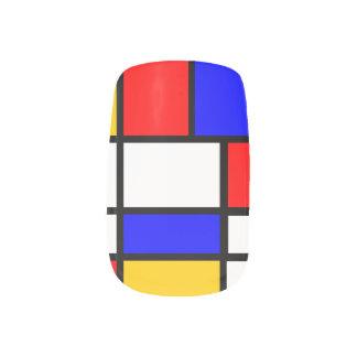 Nails of art Mondrian Nail Stickers
