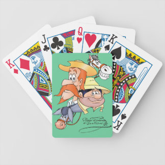 Naipes DON QUIJOTE - by @QUIXOTEdotTV Bicycle Playing Cards