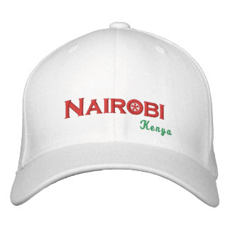 Nairobi Embroidered Hat