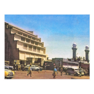 Nairobi, Kenya, Covered market and mosque Postcard