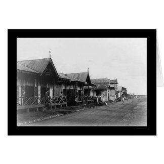 Nairobi Kenya Street Scene 1908 Card