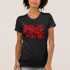 Naive alternative design, grungy tic tac toe T-Shirt