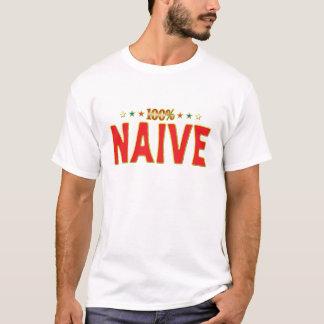 Naive Star Tag T-Shirt