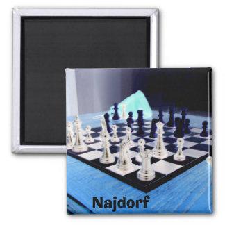 Najdorf Square Magnet