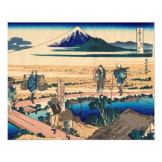 Nakahara in Sagami Province Photographic Print