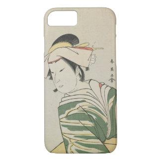 Nakamura Noshio II as Tonase, 1795 iPhone 7 Case