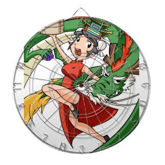 Nakano bloom lotus (Japanese) English story Dartboard