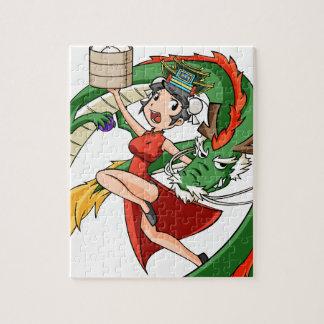 Nakano bloom lotus (Japanese) English story Jigsaw Puzzle