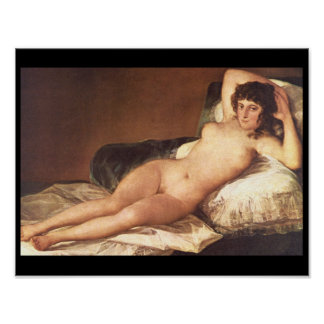 Naked Maja', Francisco de Goya_Portraits Poster
