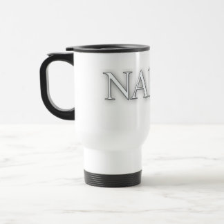 Naked-White Travel Mug
