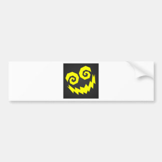 NALGames Insane In The Face Black + Yellow Bumper Sticker