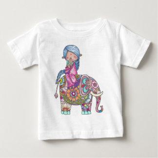 Nalini the small Hindu woman Baby T-Shirt