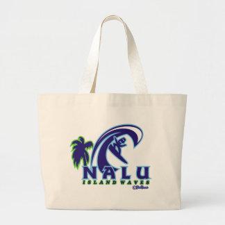 NALU01 Island Waves Product Jumbo Tote Bag