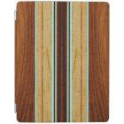 Nalu Hou Faux Koa Wood Surfboard iPad Smart Cover iPad Cover
