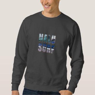 """""""Nalu-Surf"""" Hawaiian Wave Printed Sweatshirt"""
