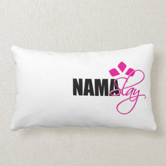 NamaSlay Throw Pillow for the Diva Yogi