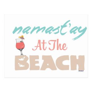 Namast'ay à la plage cartes postales