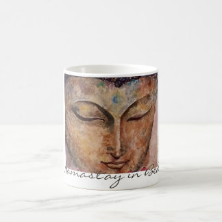 Namast'ay in Bed Buddha Art Classic Coffee Mug
