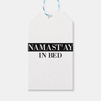 Namast'ay In Bed Pack Of Gift Tags