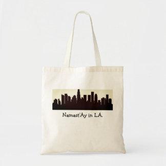 Namast'Ay in L.A., Namaste Grocery Bag Tote  Calif