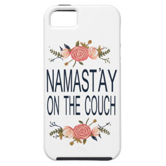 NAMASTAY ON THE COUCH Funny iPhone 5 Case
