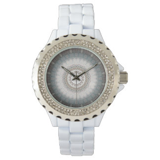 Namaste11 Silver Blue Zen Watch