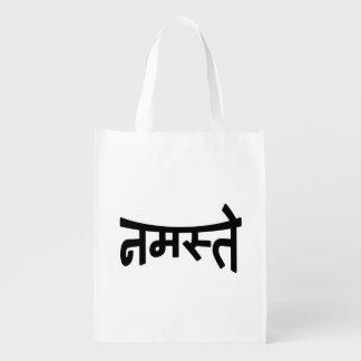 Namaste (नमस्ते) - Devanagari Script Market Tote