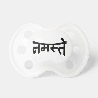 Namaste (नमस्ते) - Devanagari Script Pacifier