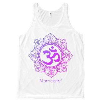 Namaste' All-Over-Print Tank Top