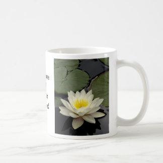 Namaste and Peace Always Lotus Mug