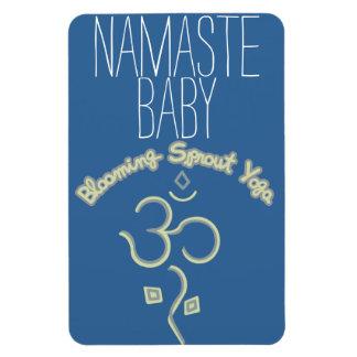 Namaste Baby Car Magnet
